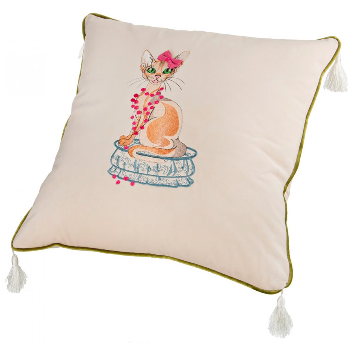 Декоративные подушки Santalino Декоративная подушка Thomasin  (45х45) декоративные подушки оранжевый кот подушка игрушка медведь чистые погоны чистая совесть