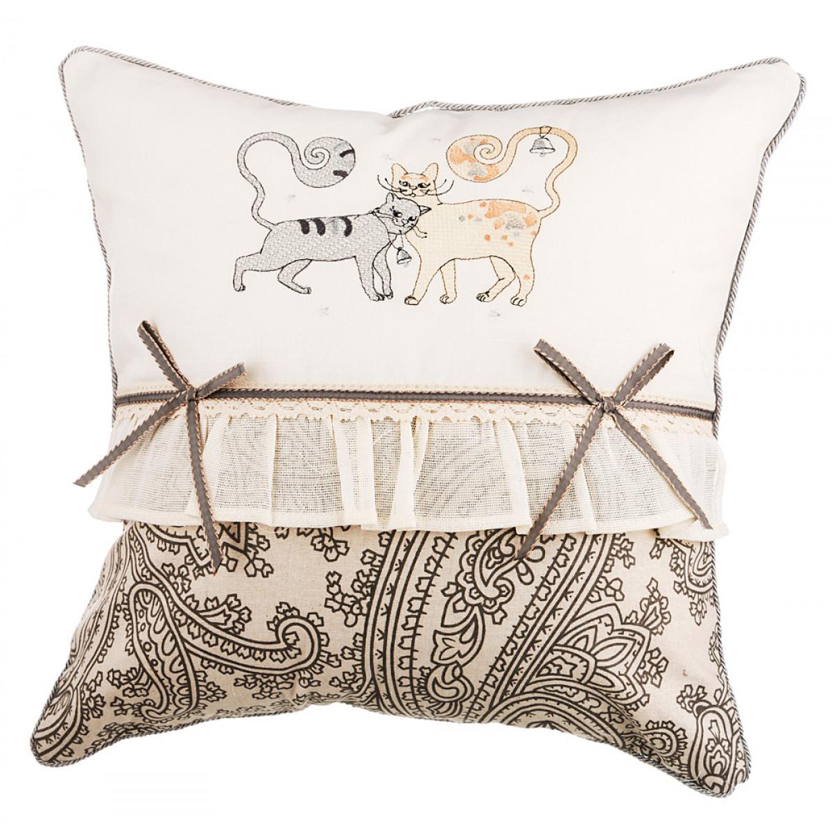 Декоративные подушки Santalino Декоративная подушка Nevin (45х45) декоративные подушки santalino декоративная подушка гуси 45х45