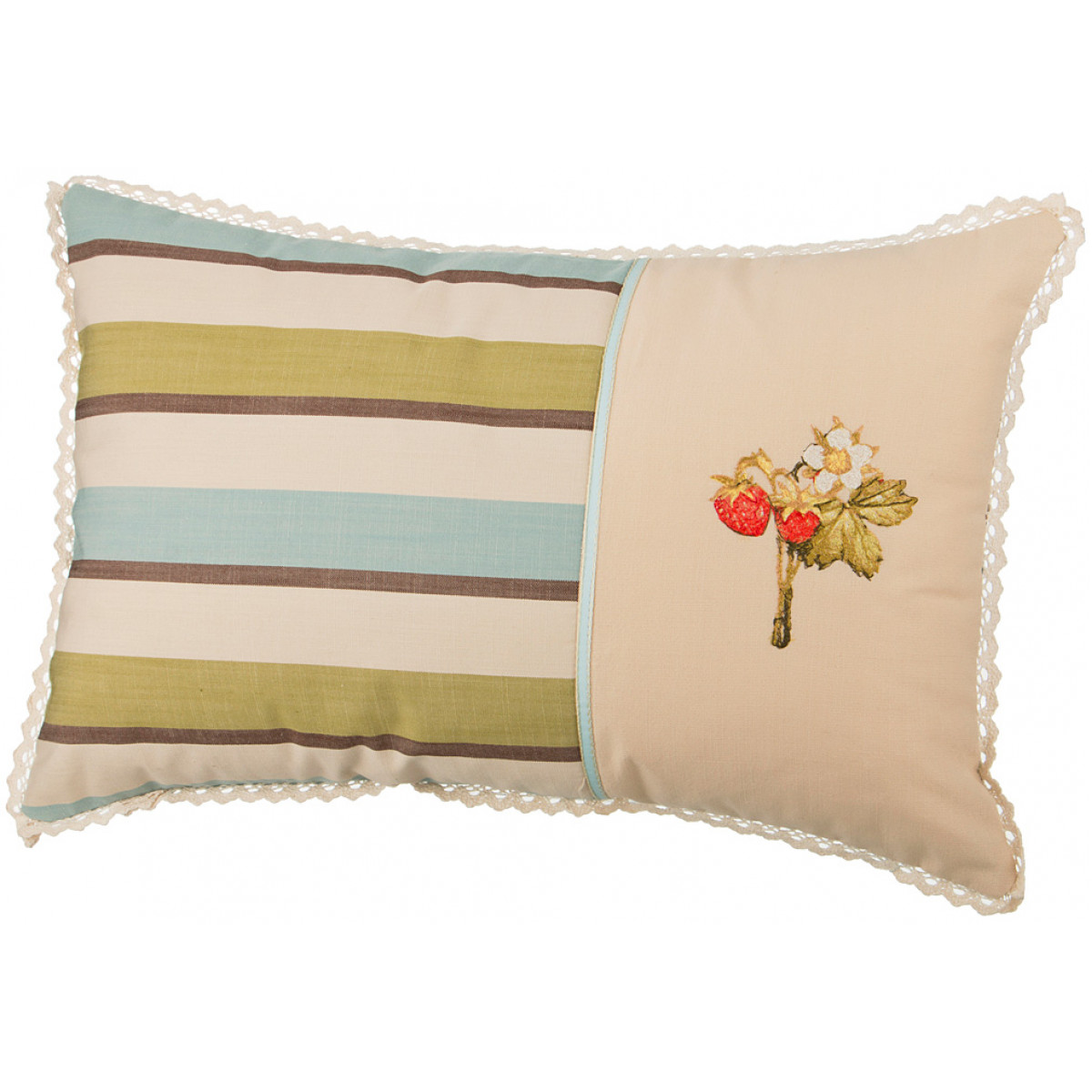 Декоративные подушки Santalino Декоративная подушка Фрутта (37х57) подушка декоративная santalino райский сад 850 818 6