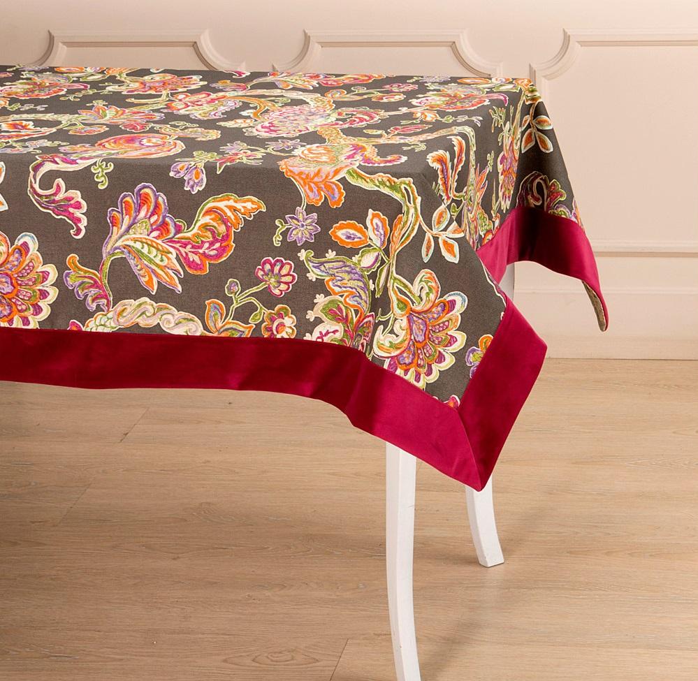 Скатерти и салфетки Santalino Скатерть Витраж (120х160 см) скатерти и салфетки karna скатерть leda цвет бордовый круглая 160 см