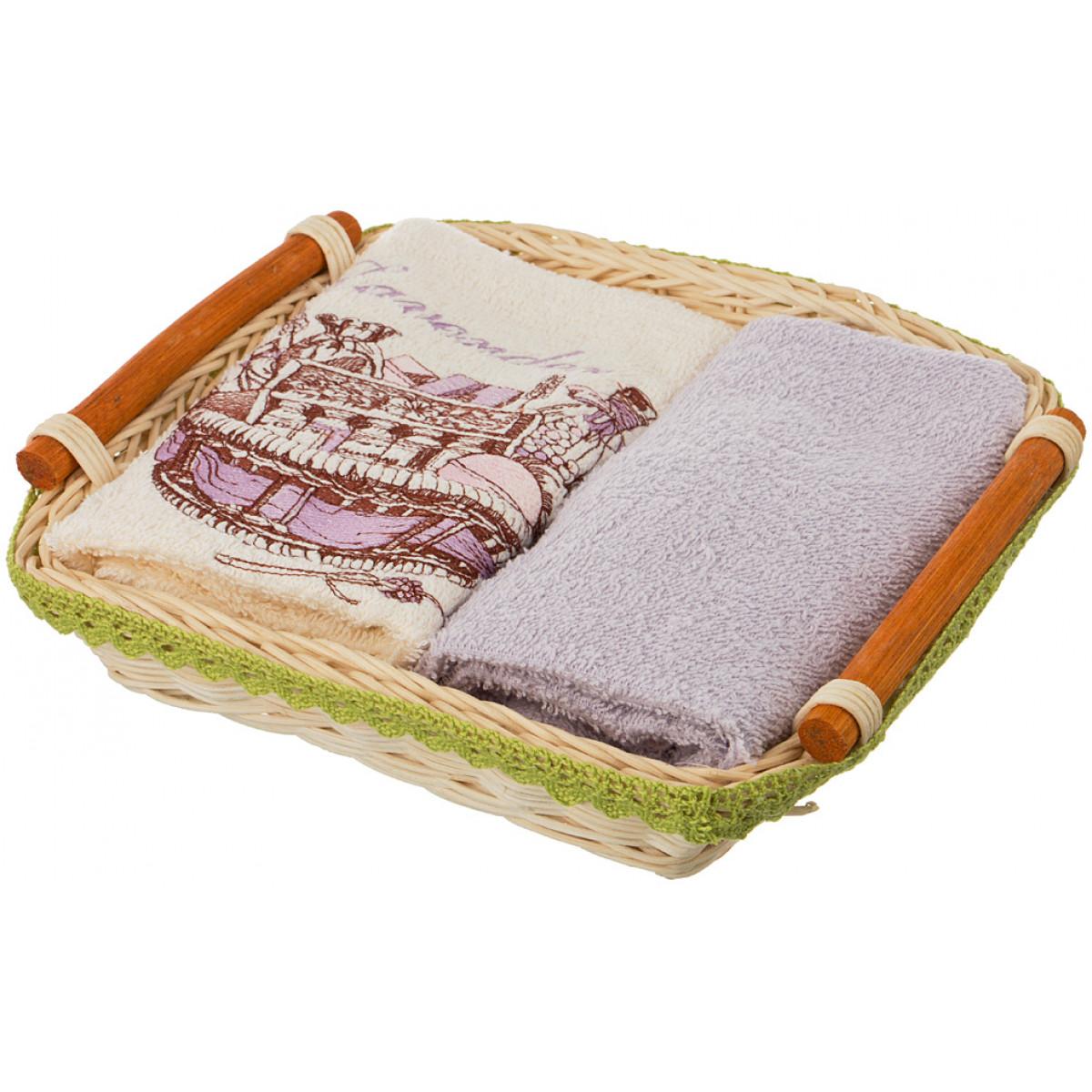 все цены на {} Santalino Кухонное полотенце Asia  (35х50 см - 2 шт) онлайн