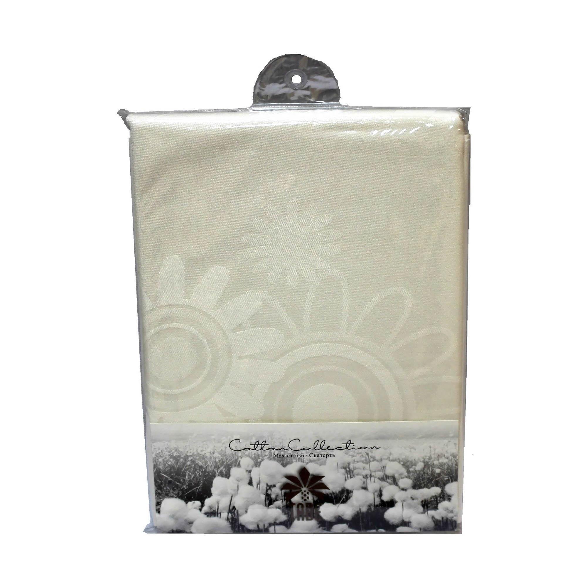Скатерти и салфетки TABE Скатерть Planet Цвет: Кремовый (160х220 см)