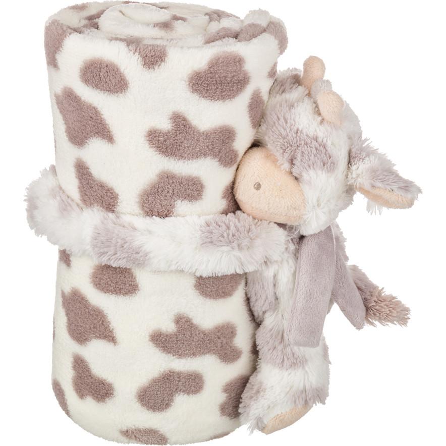 Детские покрывала, подушки, одеяла Santalino Детский плед с игрушкой Муму (75х100 см) плед детский арти м 75х100 см розовый мишка