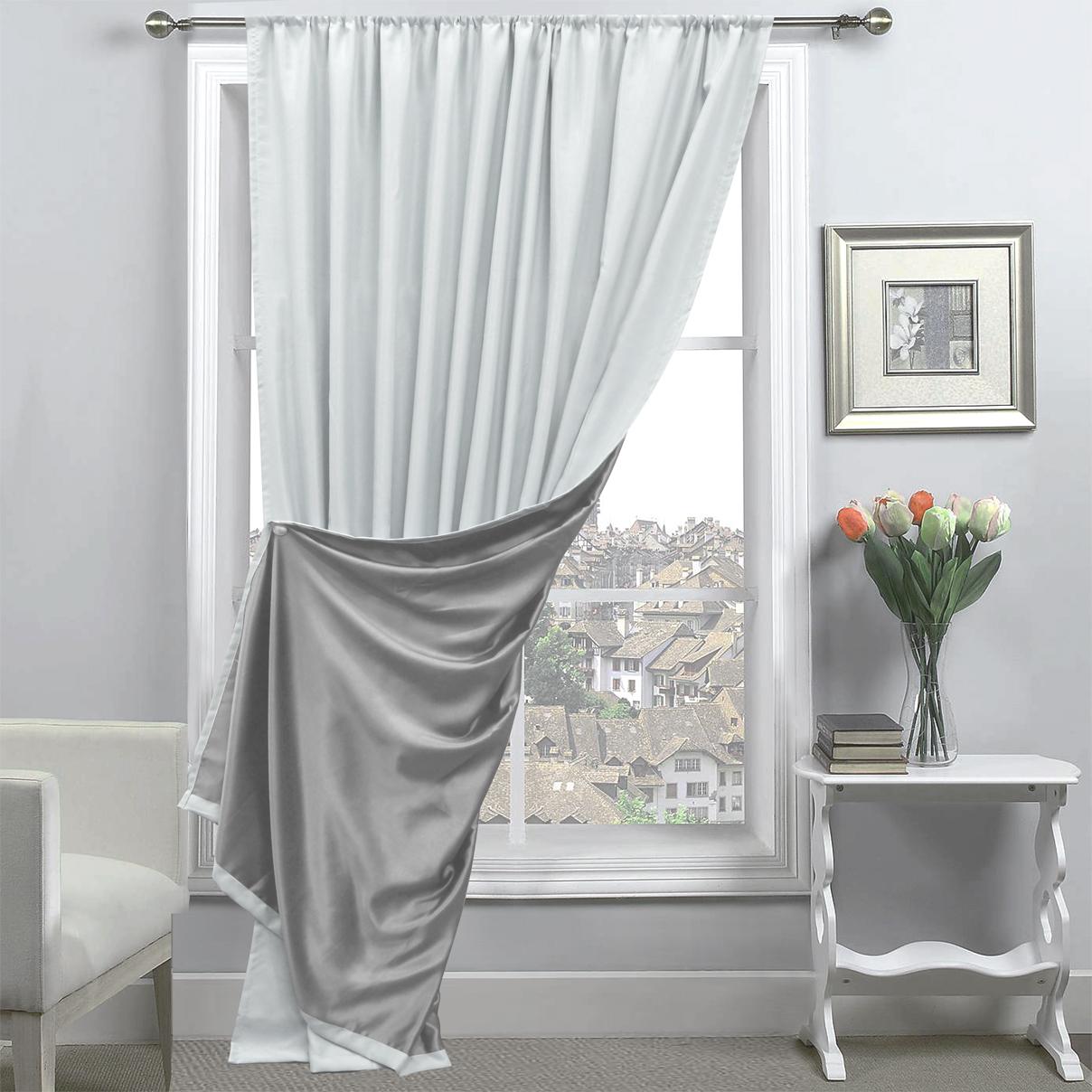 Шторы Amore Mio Классические шторы Milan Цвет: Серый подсвечник sima land крест