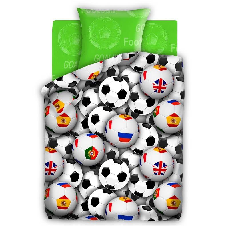 Детское Постельное белье 4YOU Постельное белье Футбольные Мячи (143х215 см)