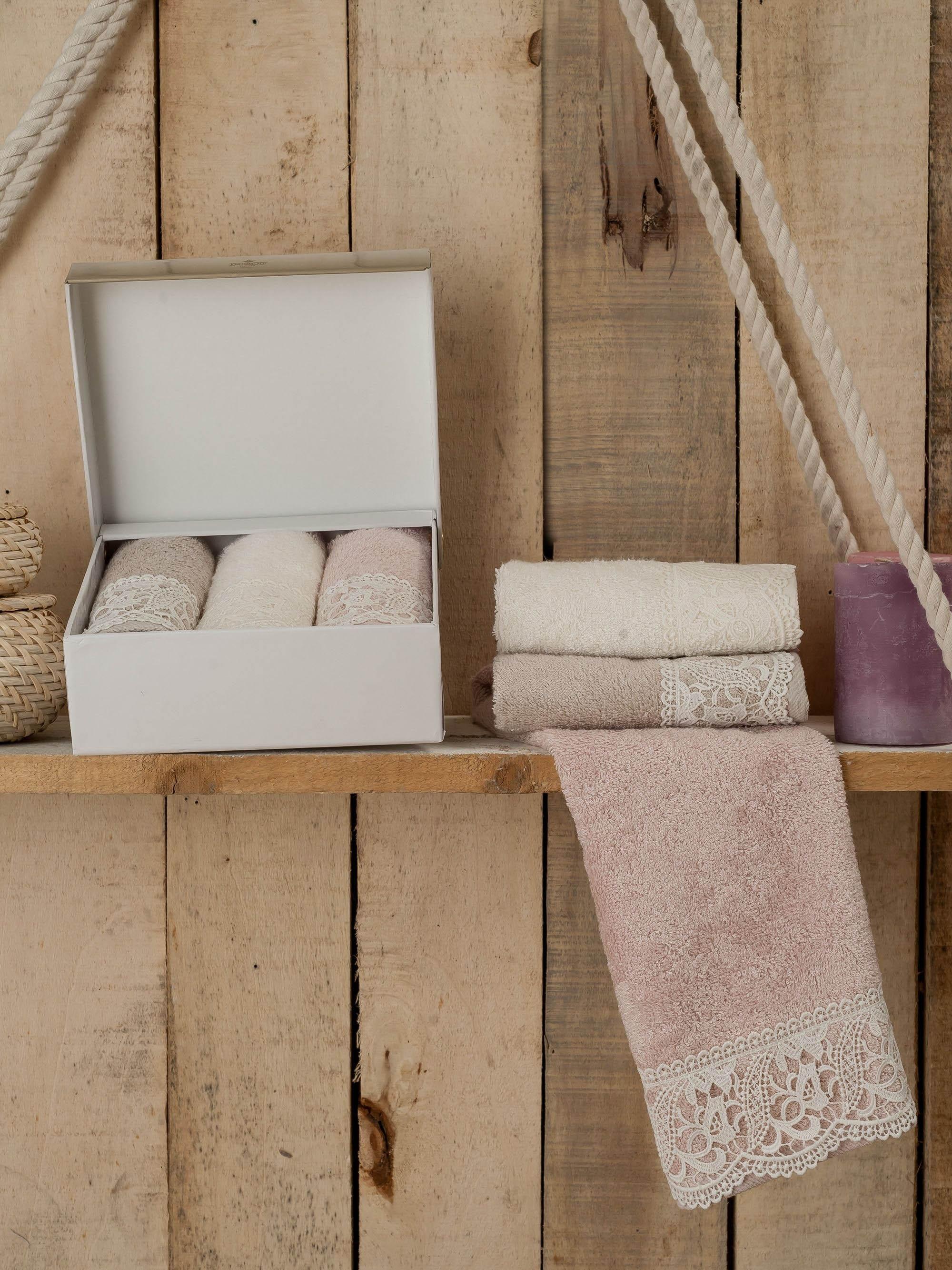 где купить {} DO'n'CO Кухонное полотенце Belinda (30х50 см - 3 шт) по лучшей цене