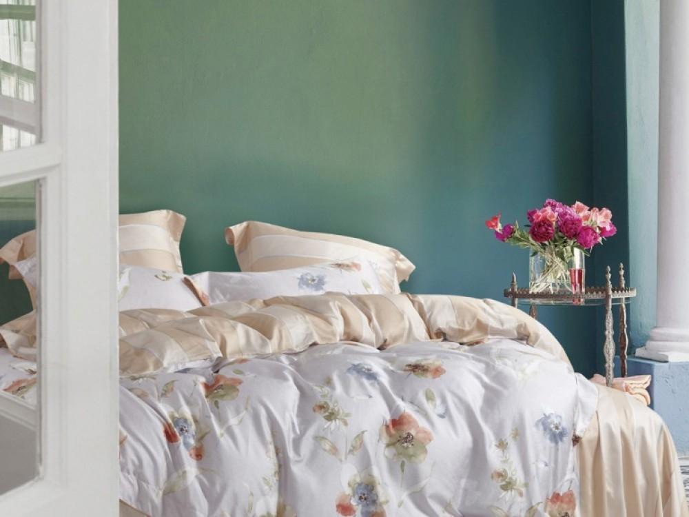 Постельное белье Asabella Постельное белье Kendal  (семейное) постельное белье asabella постельное белье 1 5 спальное тенсел сатин