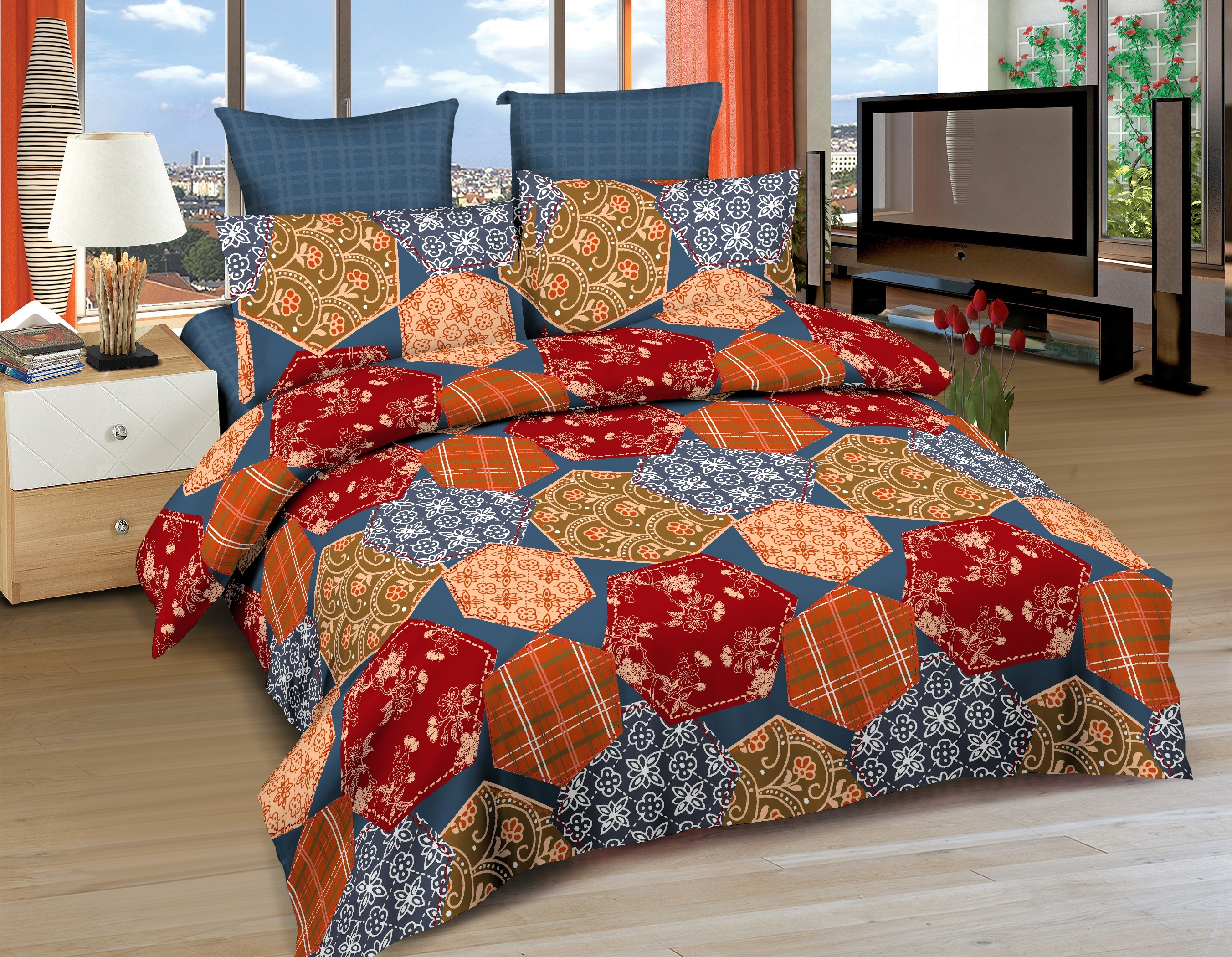 Постельное белье Amore Mio Постельное белье Cairo (2 сп. евро) постельное белье amore mio постельное белье glasgow 2 сп евро