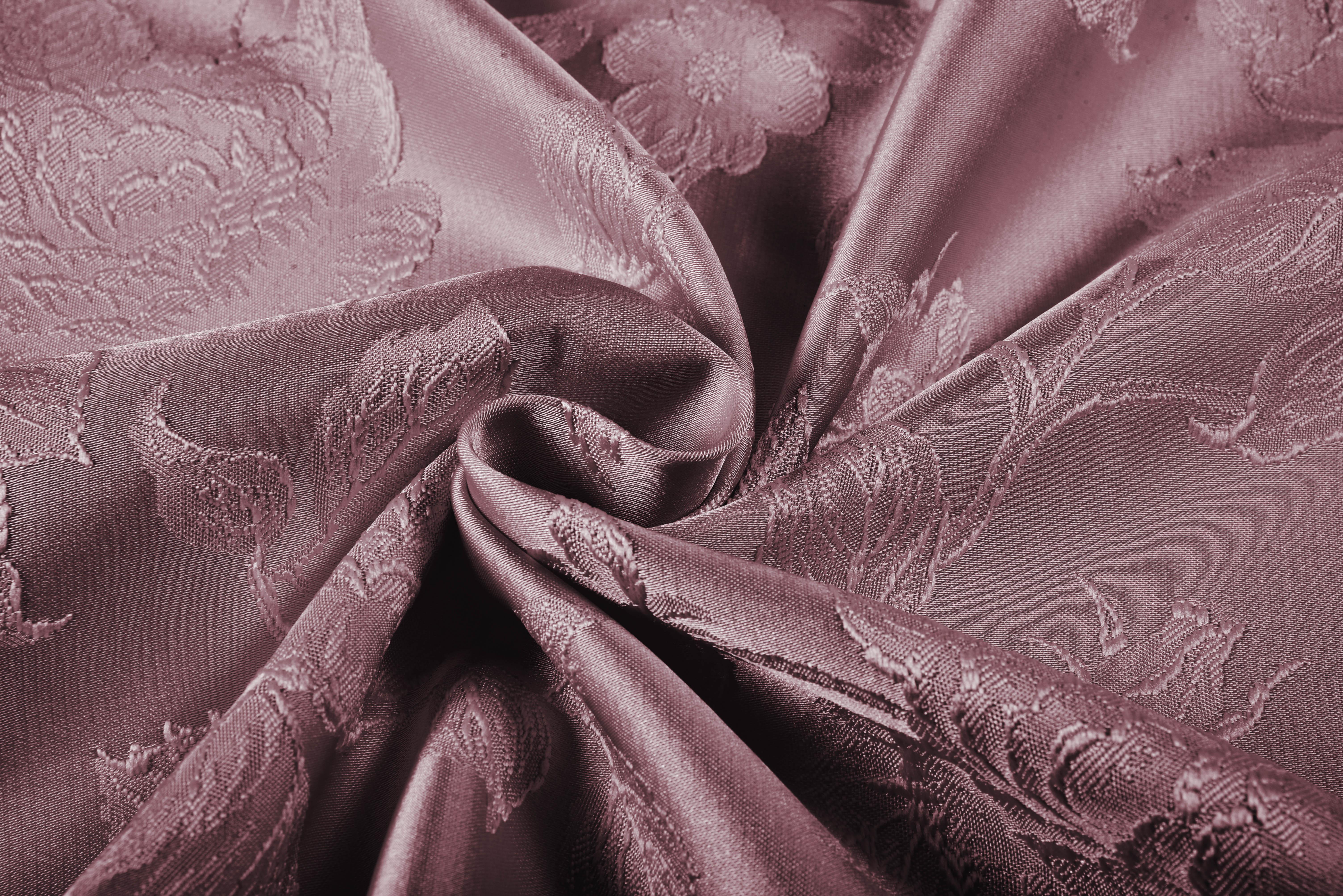 {} TexRepublic Материал Жаккард Flower Fantasy Цвет: Брусника texrepublic материал бархат wet silk цвет брусника