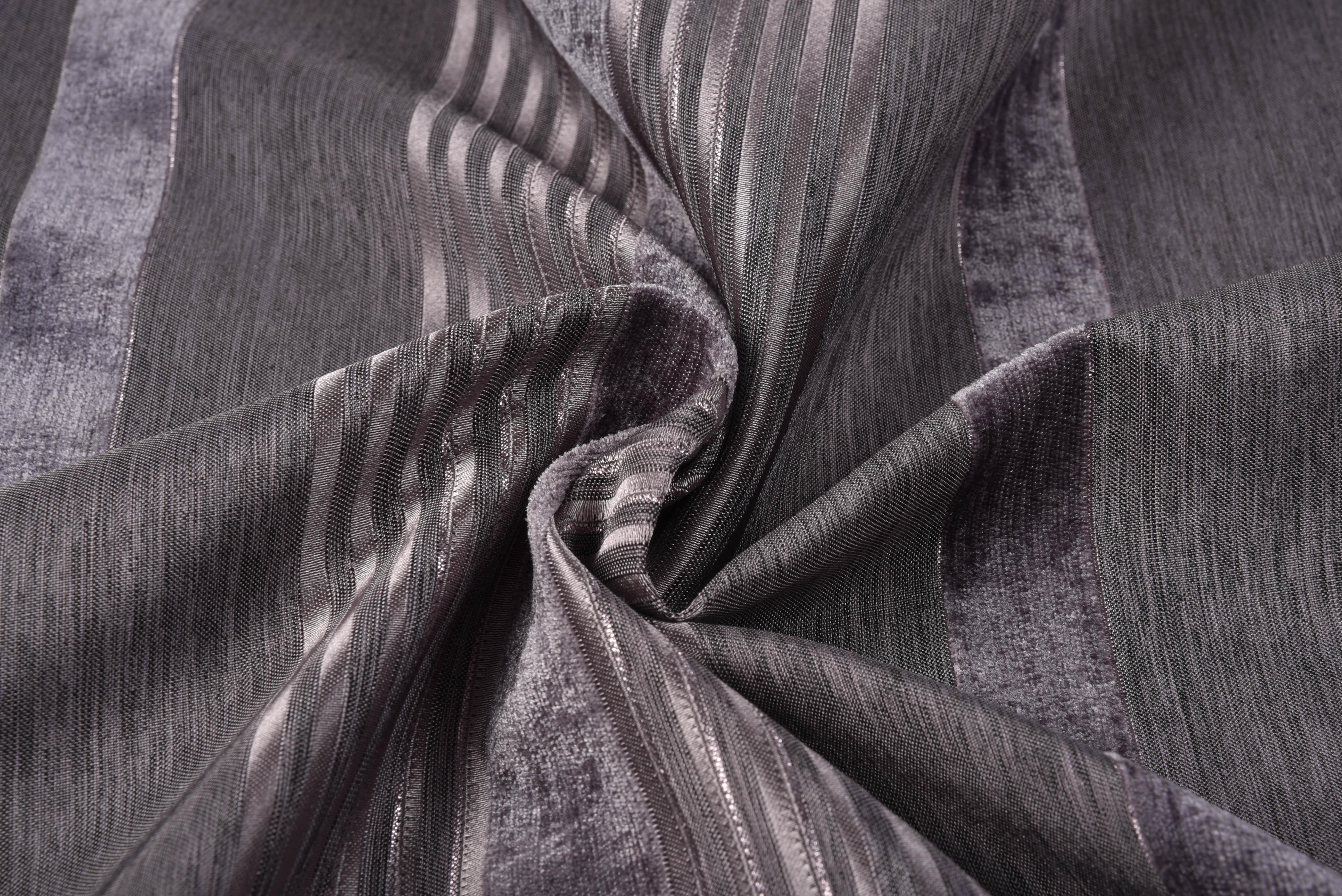 {} TexRepublic Материал Жаккард Strips Single Цвет: Серый серый вислоухий котнок цена