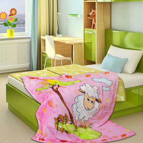 Детские покрывала, подушки, одеяла Absolute Детский плед Vuazi  (110х140 см)