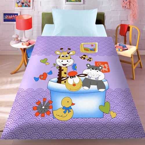 Детские покрывала, подушки, одеяла Absolute Детский плед Enya  (110х140 см)