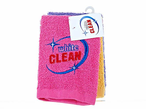{} White CLEAN Салфетки Chaya  (30х30 см - 3 шт) салфетки la pastel набор салфеток 6пр 30х30 мишка