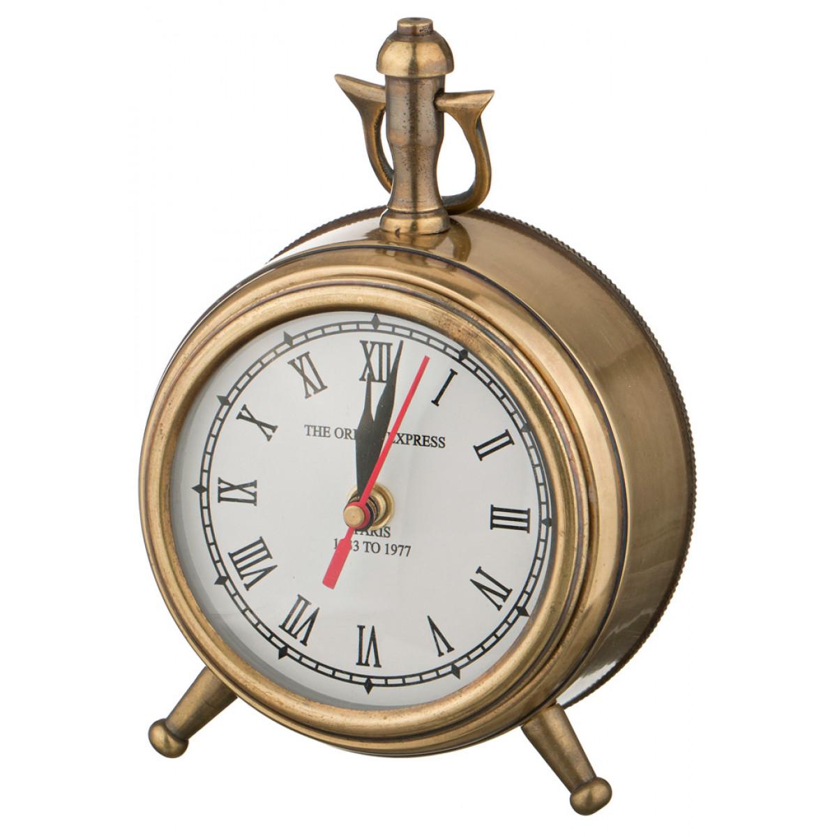 {} Arti-M Часы Aida  (12х18 см) канва бежевая 14stern aida zweigart