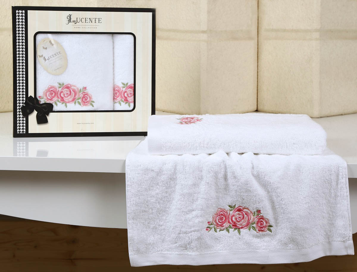 Полотенца Lucente Полотенце Riso Цвет: Белый (Набор)