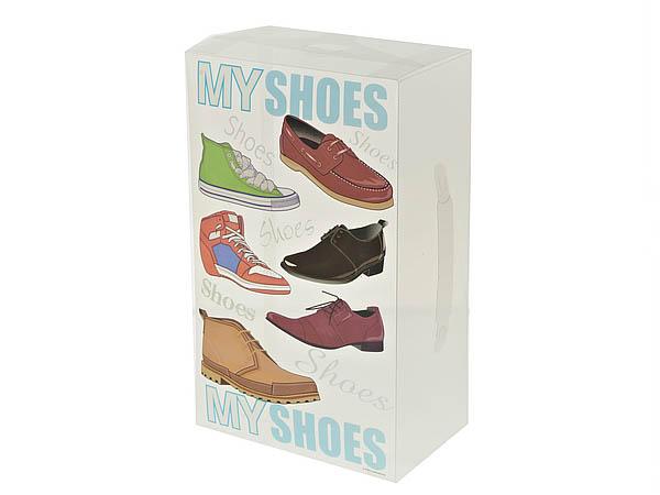 {} White CLEAN Коробка для хранения обуви Arles  (14х21х35 см) white clean коробка для хранения malon 15х15х30 см