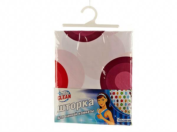 Шторы и карнизы для ванной White CLEAN Шторы для ванной Eliana карнизы