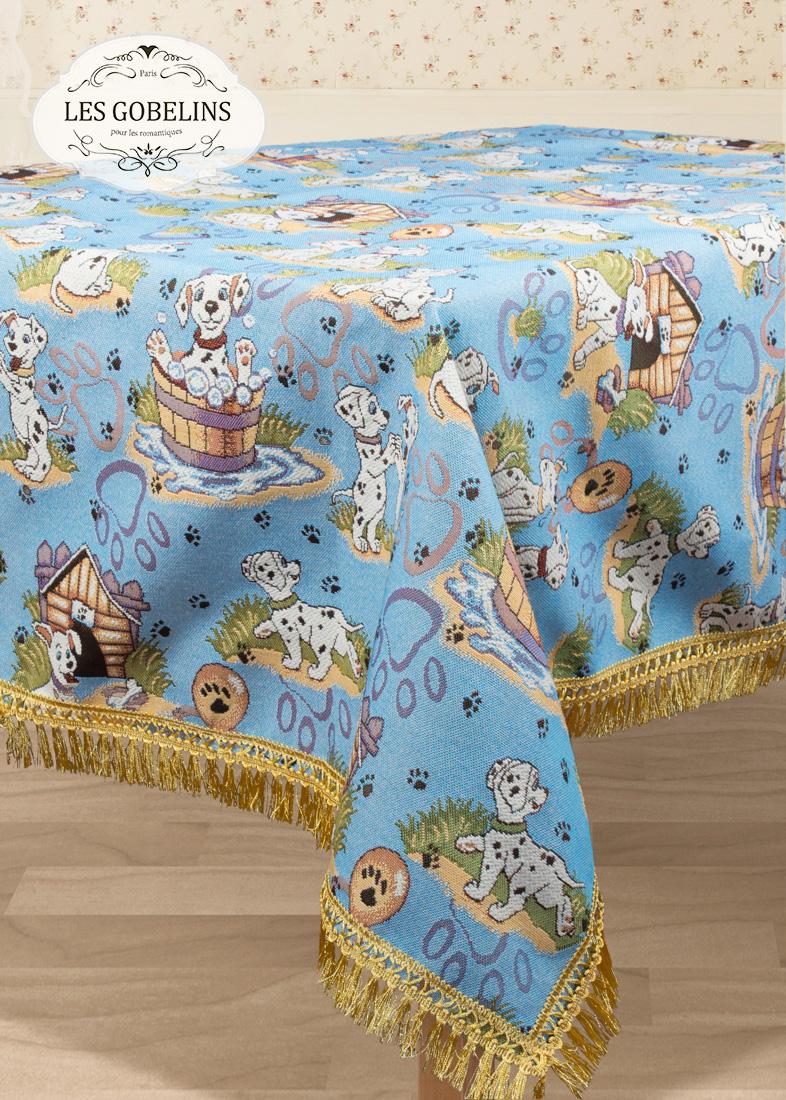 Скатерти и салфетки Les Gobelins Скатерть Dalmatiens (130х130 см) скатерти duni скатерть 138х220 d s
