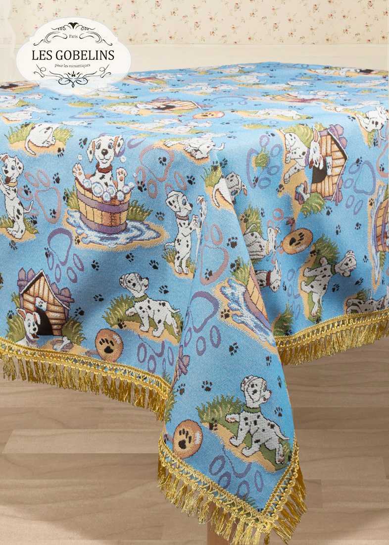 Скатерти и салфетки Les Gobelins Скатерть Dalmatiens (160х180 см)