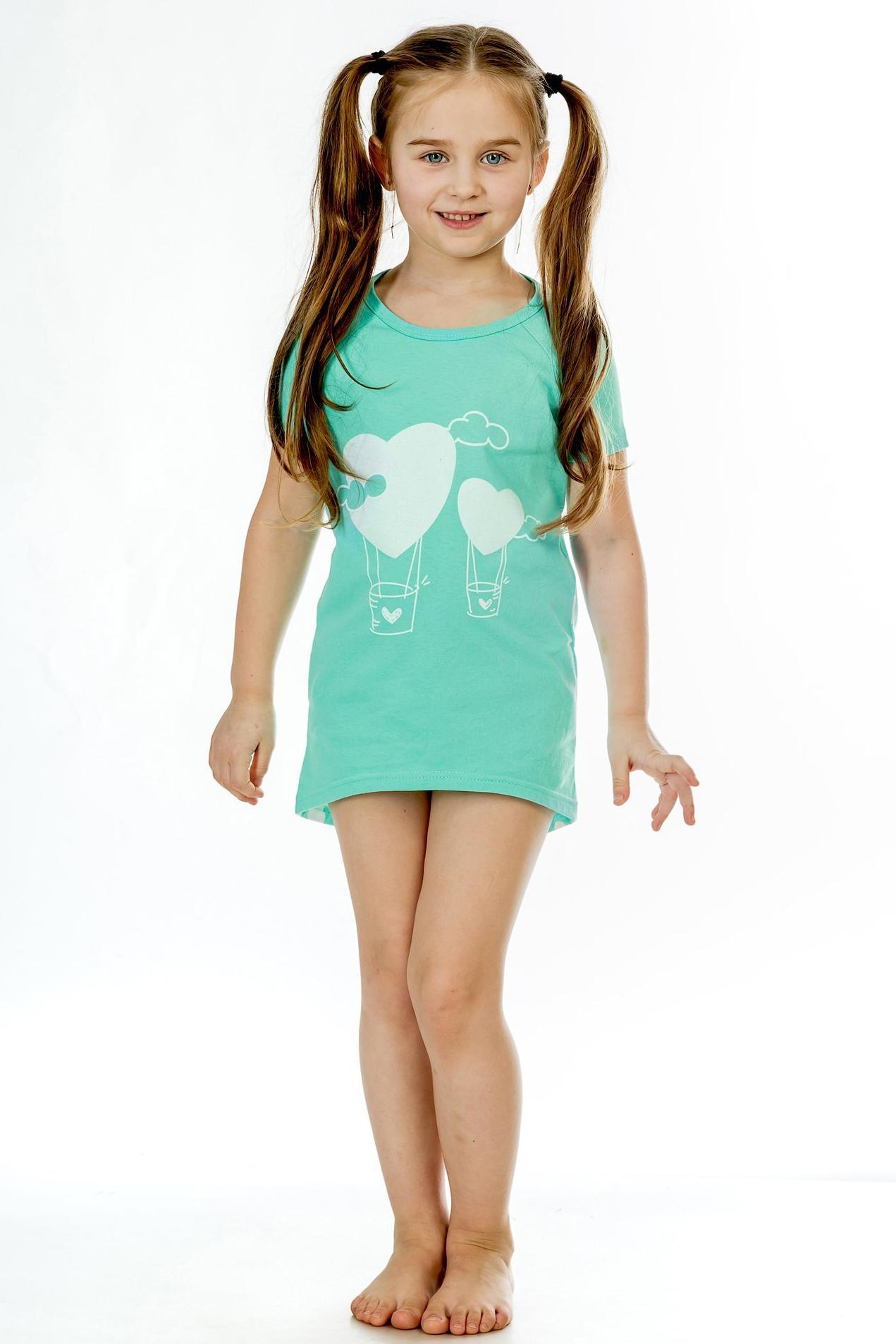 Детские туники, сарафаны Pastilla Туника Стелла Цвет: Ментол (6-7 лет) купить часы мальчику 7 лет