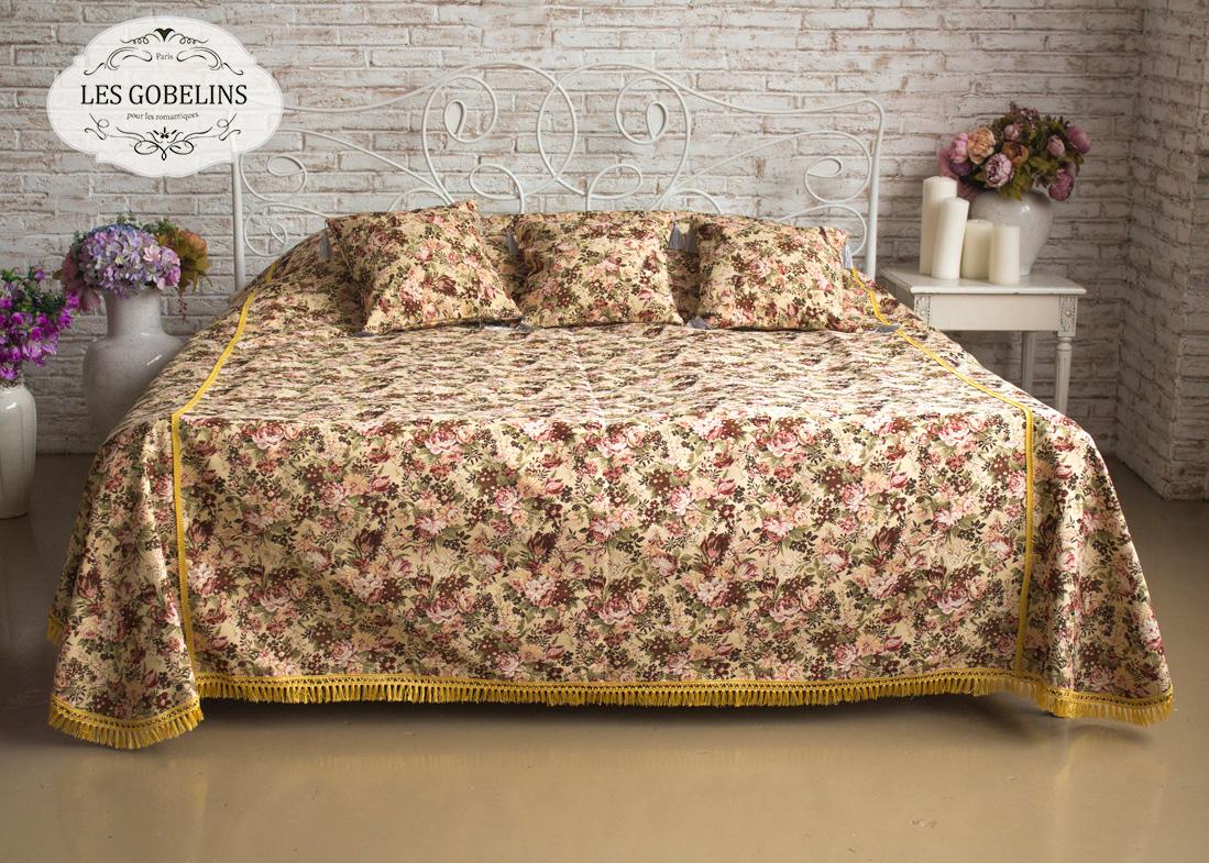 где купить Покрывало Les Gobelins Покрывало на кровать Bouquet Francais (160х230 см) по лучшей цене