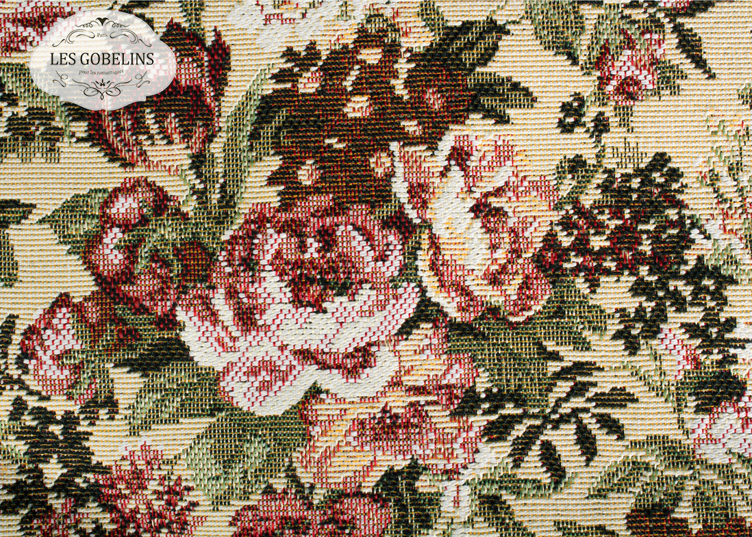 где купить Покрывало Les Gobelins Накидка на диван Bouquet Francais (140х200 см) по лучшей цене