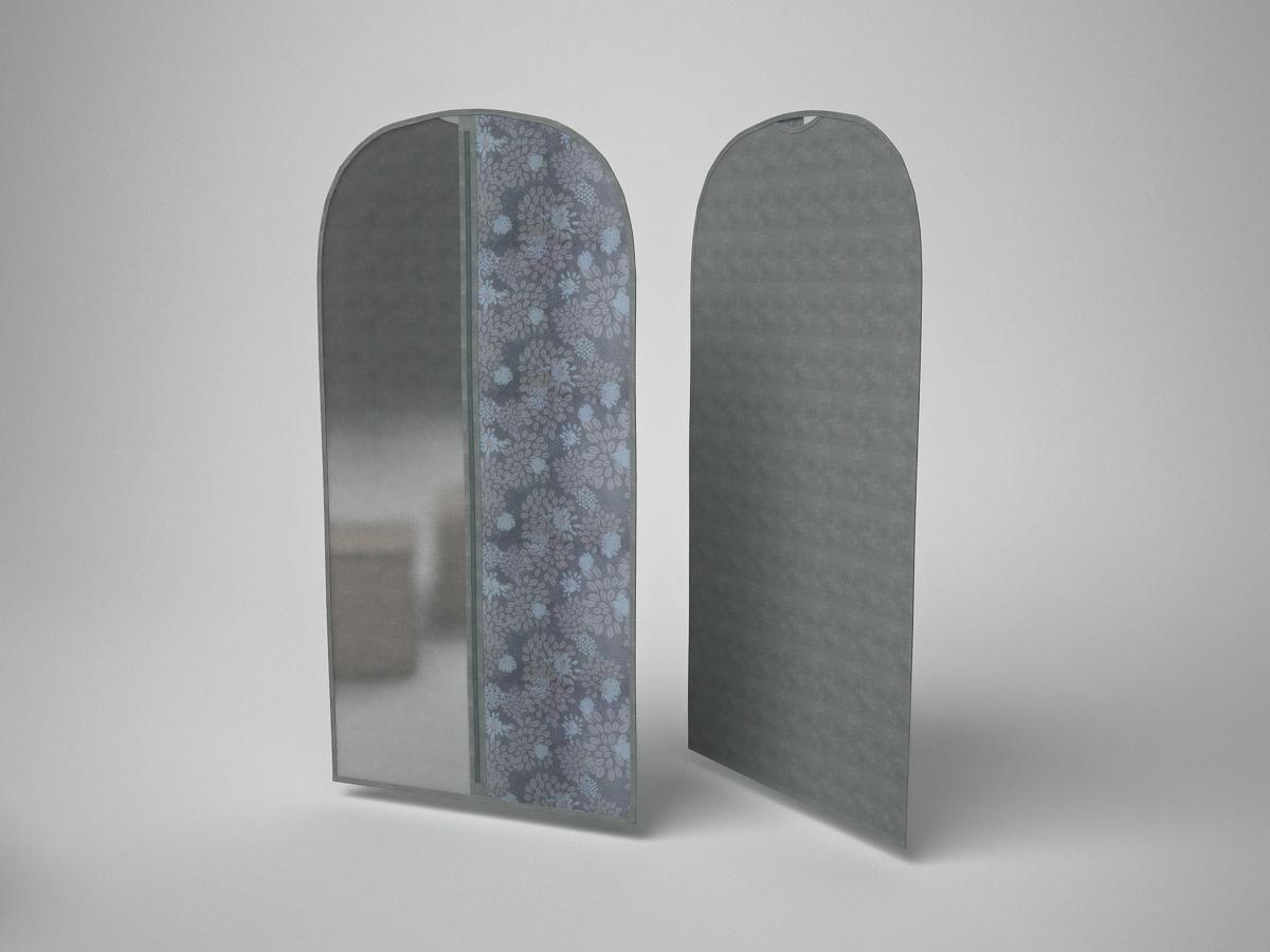 {} CoFreT Чехол для одежды Серебро (60х100 см) cofret чехол для шубы серебро cfwpe lo