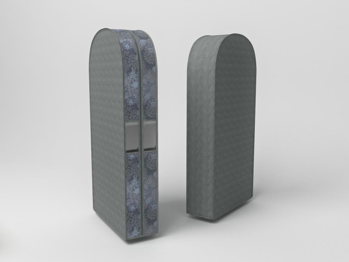 {} CoFreT Чехол для одежды Серебро (20х60х100 см) cofret чехол для шубы серебро cfwpe lo