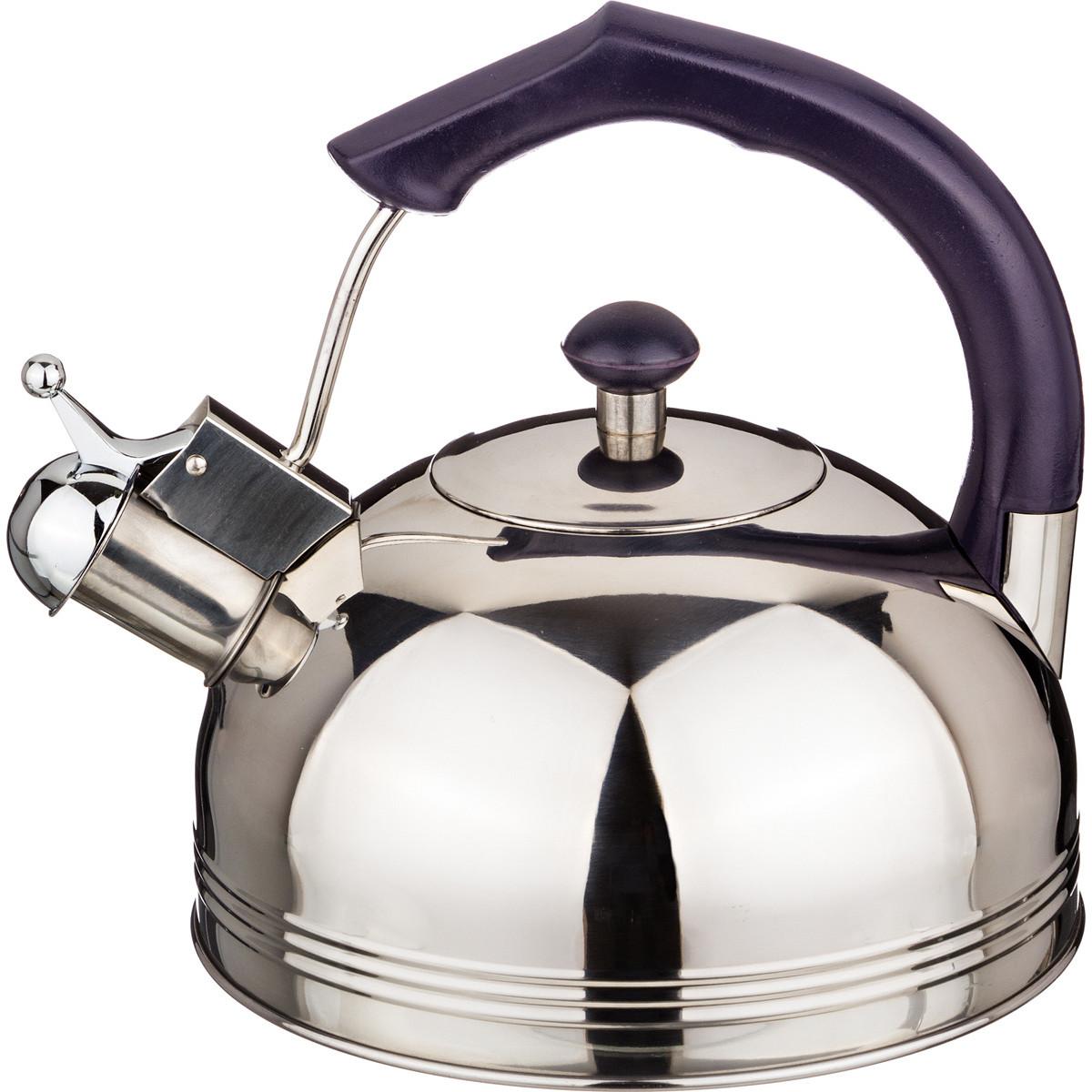 {} Agness Чайник со свистком Alyson  (2500 мл) чайник agness 3л нерж сталь со свистком