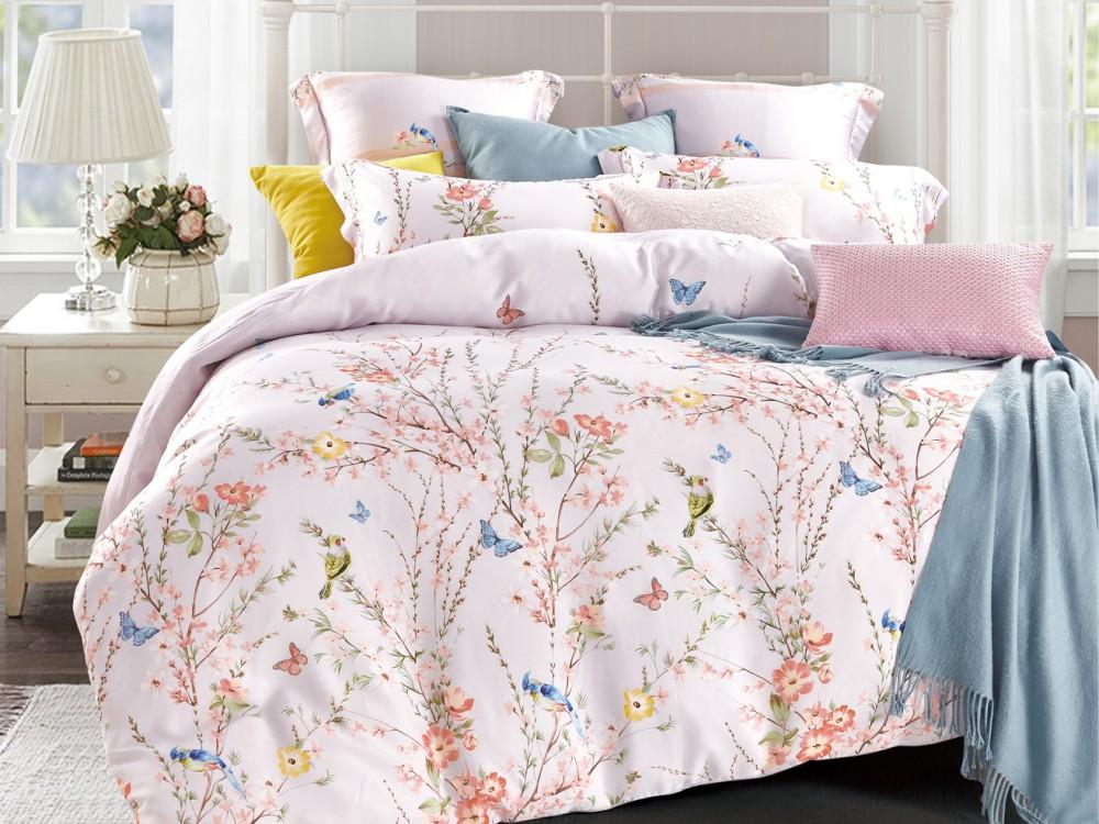 Постельное белье Asabella Постельное белье Vanesa (семейное) постельное белье asabella постельное белье 1 5 спальное тенсел сатин