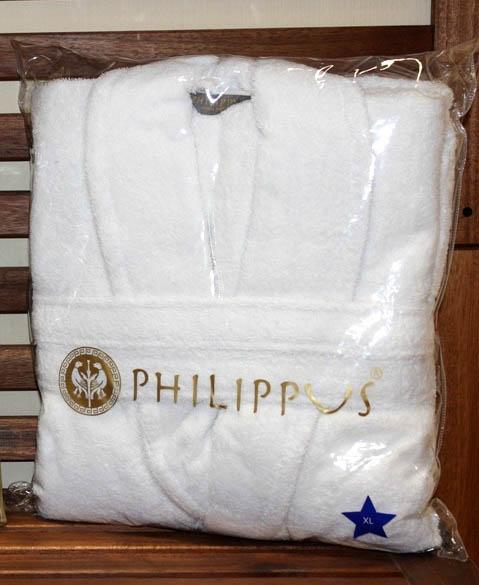 Сауны, бани и оборудование Philippus Халат Для Гостиницы Цвет: Белый (ххL) сауны бани и оборудование philippus халат euro цвет коричневый xl