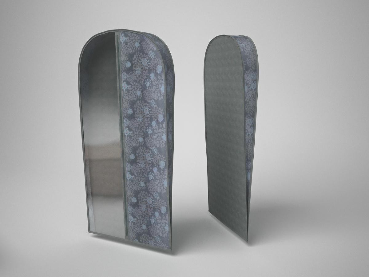 {} CoFreT Чехол для одежды Серебро (10х60х130 см)