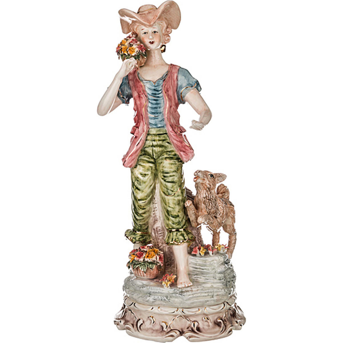 {} Lefard Фигурка Beatrice  (70 см) статуэтка lefard африканка на слоне