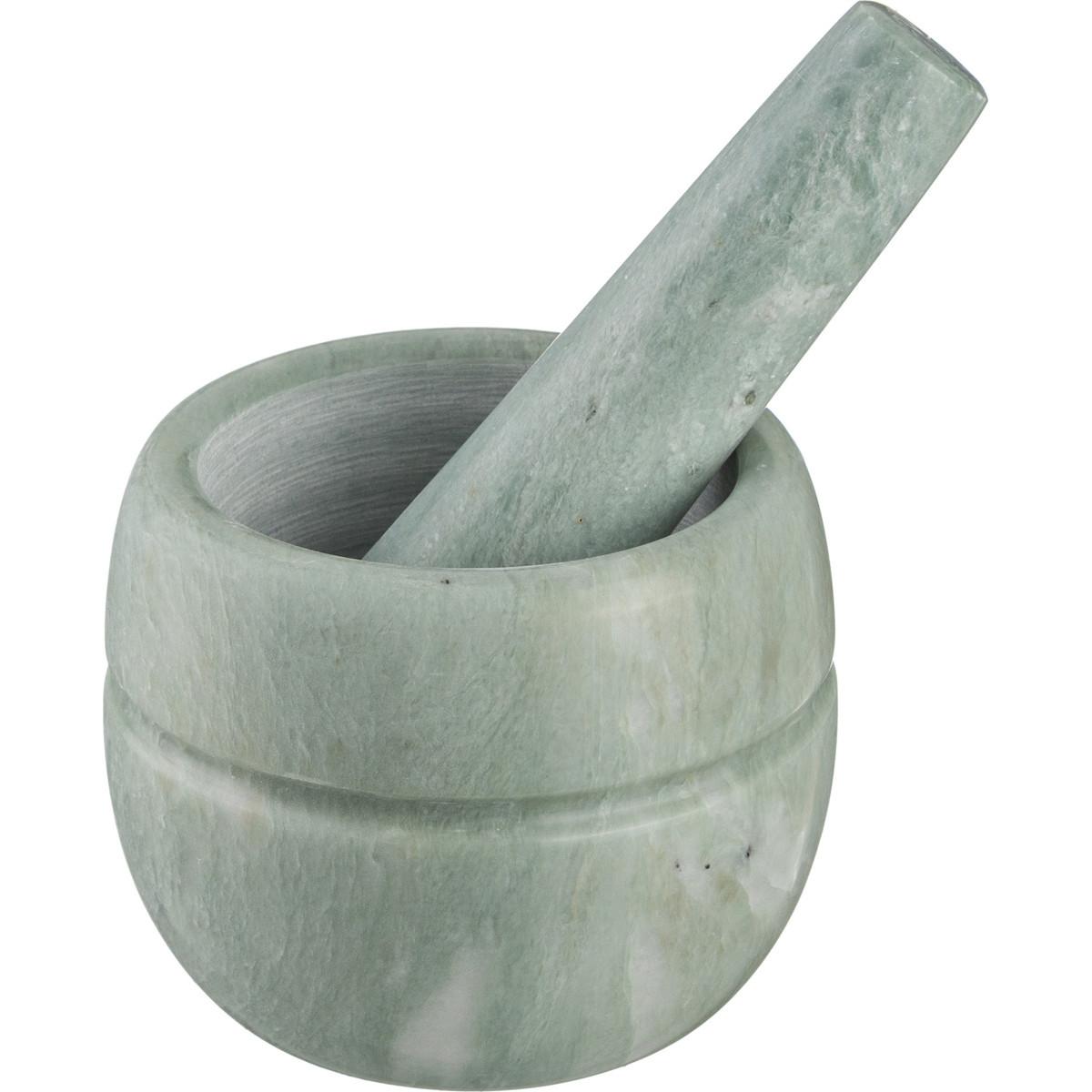 {} Agness Ступка с пестиком Bluebell  (7х9 см) ступка с пестиком agness 9х10см мрамор в ассорт