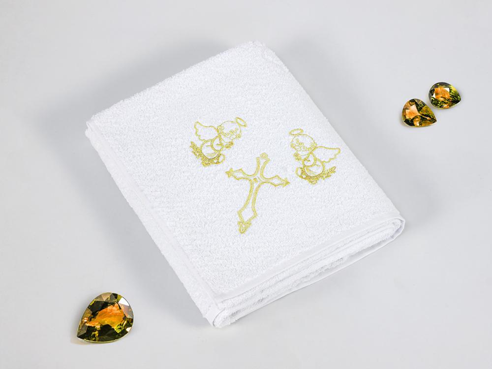 Полотенца Gulcan Детское полотенце Ангелочек Цвет: Золотой (100х100 см) bravo полотенце детское пони 33 x 70 см 1089