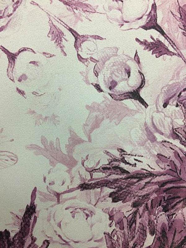 Шторы ТомДом Классические шторы Трофи Цвет: Фиолетовый