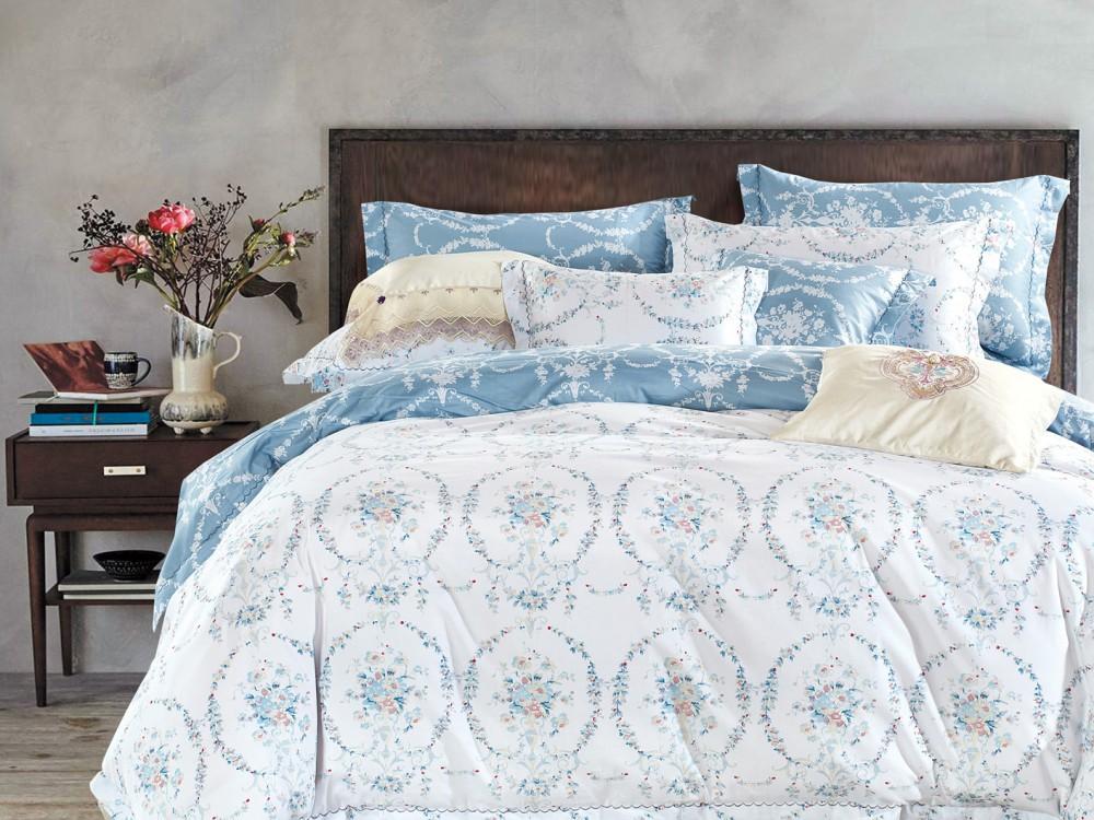 Постельное белье Asabella Постельное белье Skylar (2 сп. евро) постельное белье asabella постельное белье 1 5 спальное тенсел сатин