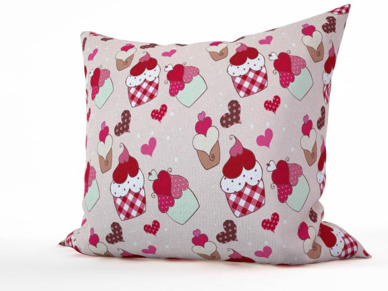 где купить Декоративные подушки StickButik Декоративная подушка Аппетитные Пирожные (45х45) по лучшей цене