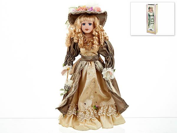 {} ArtHouse Кукла декоративная Лидия (7х13х36 см)