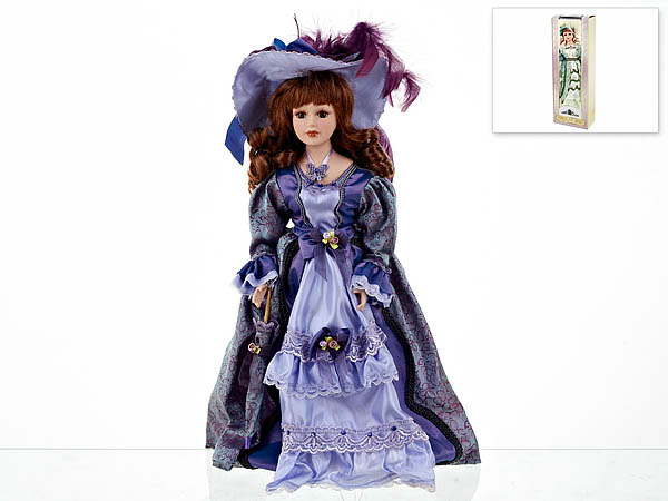 {} ArtHouse Кукла декоративная Ульяна (7х13х36 см)