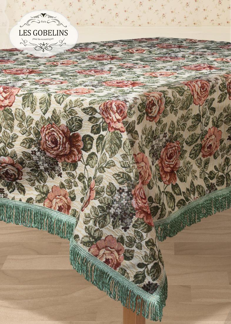 Скатерти и салфетки Les Gobelins Скатерть Art Floral (160х190 см)