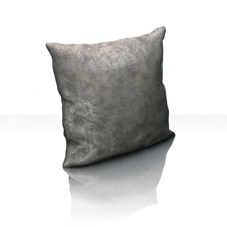 Декоративные подушки Kauffort Декоративная подушка Lainey Цвет: Темно-Серый (40х40) штора легкая kauffort barolo