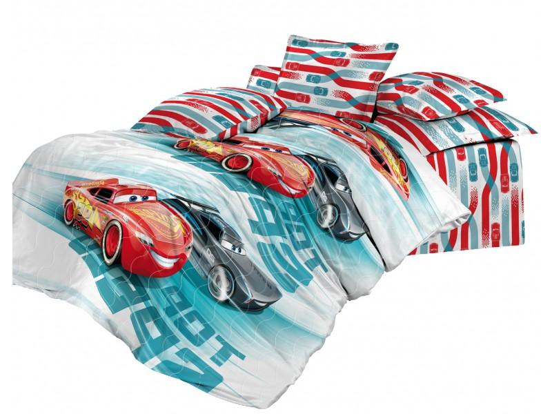 Детские покрывала, подушки, одеяла Непоседа Детское покрывало Высокая Скорость (145х200 см) покрывало детское непоседа непоседа покрывало star wars стеганое чубакка