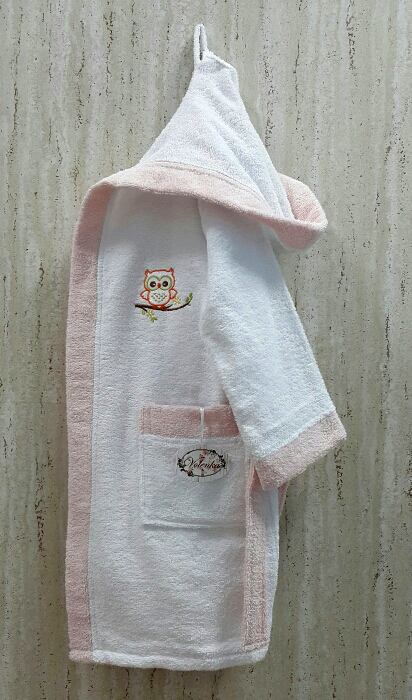 Детские халаты Volenka Детский халат Совёнок (10-12 лет) купить шелковый халат мужской спб