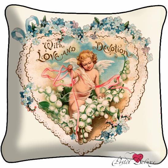 Декоративные подушки Fototende Декоративная подушка С Любовью декоративные подушки оранжевый кот подушка игрушка медведь чистые погоны чистая совесть