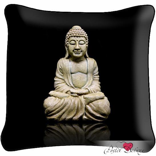 Декоративные подушки Fototende Декоративная подушка Будда подушка арти м декоративная 45х45 см цветы 703 694 37