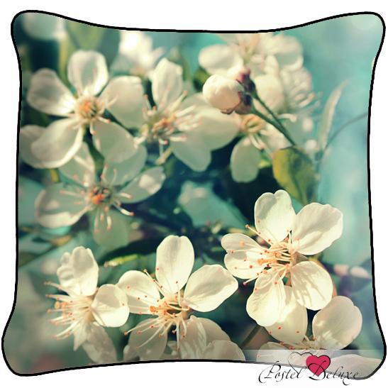Декоративные подушки Fototende Декоративная подушка Нежность подушка арти м декоративная 45х45 см цветы 703 694 37