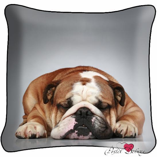 Декоративные подушки Fototende Декоративная подушка Бульдожка декоративные подушки оранжевый кот подушка игрушка медведь чистые погоны чистая совесть