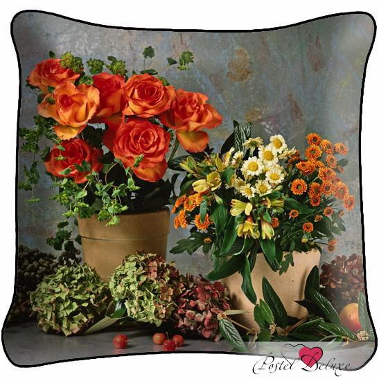 Декоративные подушки Fototende Декоративная подушка Живые Цветы подушка арти м декоративная 45х45 см цветы 703 694 37
