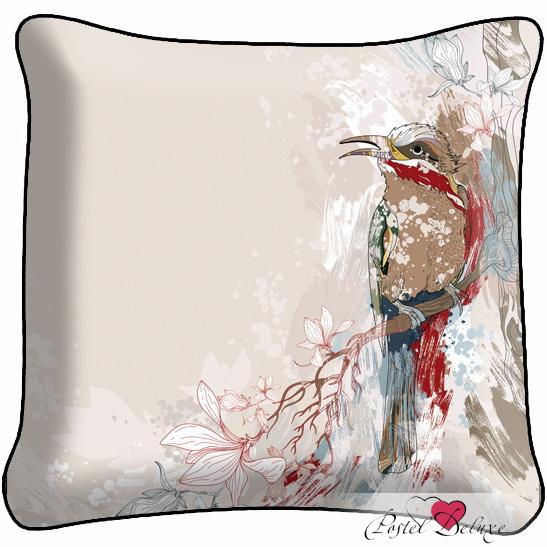 Декоративные подушки Fototende Декоративная подушка Птичка декоративные подушки оранжевый кот подушка игрушка медведь чистые погоны чистая совесть
